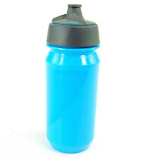 Tacx Shanti Bicycle Water Bottle, 500ml, Blue, with Integrated Membrane