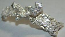4.53 grams .999 (Ag) Crystalline Silver Crystal  Nugget