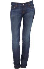 7 Pour All Mankind Roxanne Slim Fit Jeans New York Dark Nyd W27
