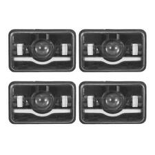 "4Pcs 4x6"" LED Headlights Sealed Hi-Lo DRL For Freightliner Classic XL Kenworth"