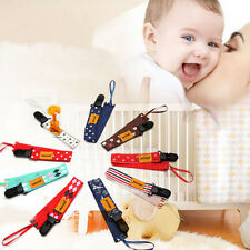 1Pc Practical Baby Pacifier Soother Dummy Clip Holder String Strap Chain Random