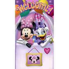 Minnie Mouse Dream Bow-Tique Disney Kids Birthday Party Decoration Door Banner