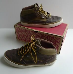 VANS OTW Collection Bedford Leather Winter Boot Shoes Sneakers UK 7 EU 40.5 US 8