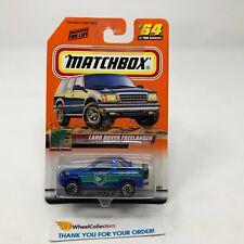 Land Rover Freelander #64 * Blue * Matchbox * G27