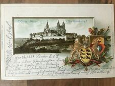 Original High Quality PASSEPARTOUT Card (the Comburg) Benedictine Monastery