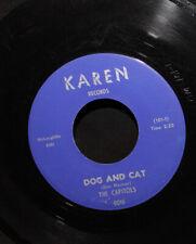 Capitols-Dog And Cat-The Kick-Karen 0016-Vintage 1963 R&B Soul Novelty 45-Vg+!