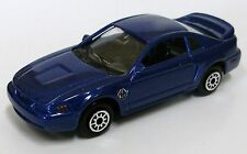 1999 Rare Ford Mustang GT 1st Year 1/64 Diecast Blue