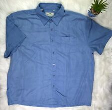 Milano Bay AQUA Hawaiian Short Sleeve Shirt Size XXL
