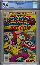 Captain America and the Falcon #211 CGC 9.4 NM Wp Marvel 1977 Kirby Story & Art