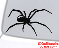 SPIDER VINYL DECAL STICKER WINDOW WALL CAR BUMPER LAPTOP BLACK WIDOW TARANTULA