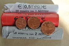 sorti de rouleau  NEUVE 1C / 2C / 5 C 2002  prix pour 3 monnaies