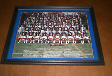 1985 CHICAGO BEARS SUPER BOWL CHAMPS FRAMED COLOR TEAM PRINT