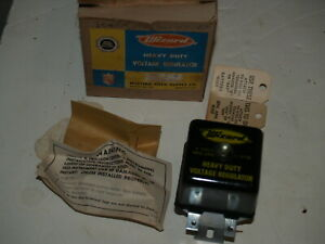 NOS Wizard Voltage Regulator 6V L3710 Volkswagen 1947-1960