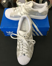 Adidas Originals Superstar 1 Silver Men's Basketball Sneakers 10 1/2  new in box