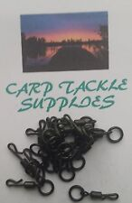QUICK CHANGE SNAP LINK WITH SIZE 8 RING/ SIZE 12 SWIVEL - 20 Pack - Ronnie Rig