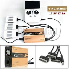 4 in1 5.7A Multi Battery Rapid Charging Parallel Charger For DJI Phantom 4 /4Pro