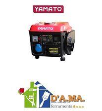 GENERATORE DI CORRENTE GRUPPO ELETTROGENO 2 T 800W 2 HP 63CC 0.8KW YAMATO G800