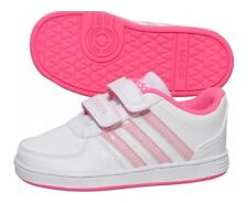 Adidas JUNIOR Girls  Hoops VS CMF C Trainers     UK Sizes 10 -2.5
