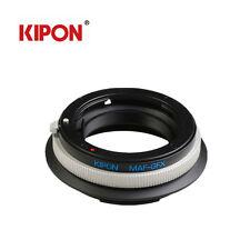 Kipon adattatore per Sony ALPA MAF Obiettivo per Fuji Fujifilm g-mount Gfx 50s corpo camer