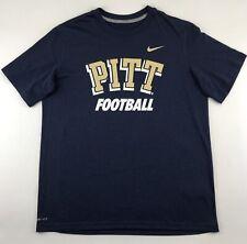Pitt Panthers Football NCAA Nike Dri Fit Boy's Short Sleeve T-Shirt Size X-Large