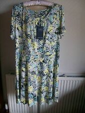 Short Sleeve Viscose Dress, Size 18 Short, Marks & Spencer, Brand New with Tags