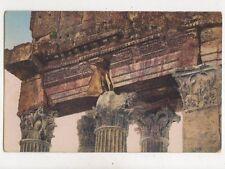 Baalbek Frises de la Facade du Temple de Bacchus Vintage Postcard 942a