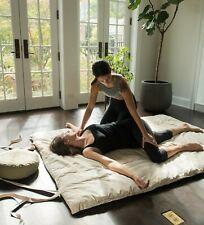 Thai Shiatsu Massage Mat Reiki 100% Cotton with ties and Shoulder strap