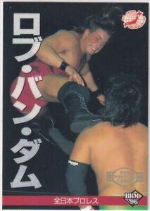 #62  Rob Van Dam 1997 BBM Pro-Wrestling card Japan