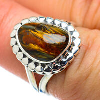 Golden Pietersite 925 Sterling Silver Ring Size 6.75 Ana Co Jewelry R49571F