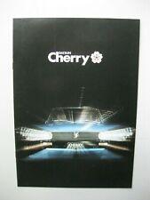 Datsun Nissan Cherry brochure Prospekt Dutch/Flemish text 12 pages 1979