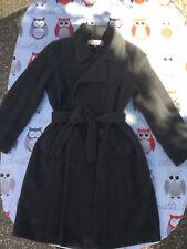manteau gerard darel taille 42 gris laine et angora
