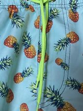 Trinity Collective large pineapple swim trunks board shorts