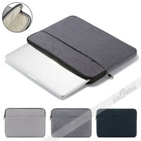 """Universal Laptop Sleeve Case Carry Bag Pouch For 11.6"""" 13.3"""" 14"""" 15.6"""" Notebooks"""