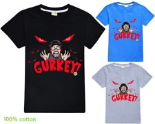 FGTeeV GURKEY! Boys Girls Kid's T Shirt  100% Cotton AU Shop