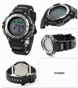 Casio PRO TREK Men's Watch SGW-300H-1AV Outdoor Altimeter, Compass