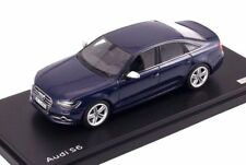 1:43 SCHUCO PRO R 2011 AUDI S6 sedan Estoril Blue Lim. Ed. 500 pcs.DEALER PROMO
