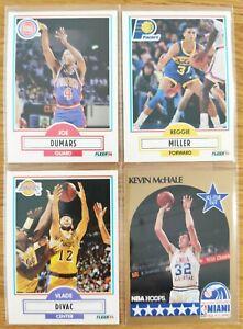 Lot 89 cartes FLEER 90-91 HOOPS 89-90 HOOPS 90-91 PACK FRESH