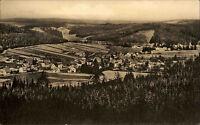Engelsbach Thüringer Wald DDR s/w AK 1964 gelaufen Blick vom Körnberg Panorama