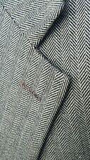 Ralph Lauren Polo Tan Brown 54R Tweed Herringbone Wool Blazer Jacket Sport Coat