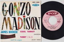 James BOOKER * Gonzo * 60's French EP * MOD JAZZ R&B HAMMOND SOUL *