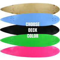 "Moose Longboard Deck 9"" x 43"" Pintail"