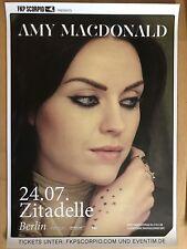 AMY MACDONALD  2018  BERLIN   - orig.Concert Poster - Konzert Plakat + NEU  A1
