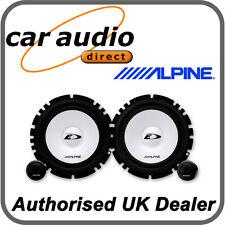 """ALPINE SXE-1750S 6.5"""" 16.5cm Car Audio Component 2Way Speakers Set 280W Tweeters"""