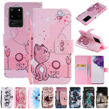 For Samsung Galaxy S20 Ultra S20 Plus S20 Leather Flip Strap Wallet Case Cover