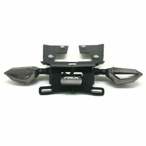 For HONDA MSX125 Grom/125 SF LED License Plate Holder Rear Tail Tidy Turn Signal