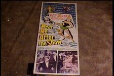 MEET ME AFTER THE SHOW 1951 INSERT 14X36 MOVIE POSTER BETTY GRABLE