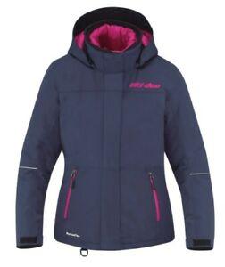 SAVE BIG! Ladies Ski-Doo Absolute 0 Jacket - Navy - Sizes Small S