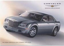 Chrysler 300 C 2005 original Postcard for the UK market