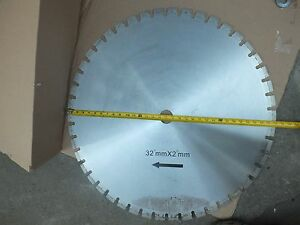 "Diamond Segmented Blade Bridge Saw 32 Inch ( 32"" )"