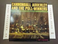 CANNONBALL ADDERLEY AND THE POLL-WINNERS 1960 DG LP WES MONTGOMERY RLP 355